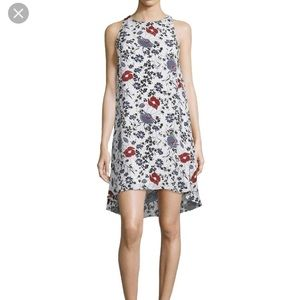 Theory Floral Silk Short Casual Dress size 2